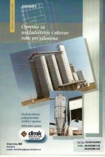 Silosi i semesnki centri - Visoko kvalitetna oprema za poljoprivredu i poljoprivredne mašine